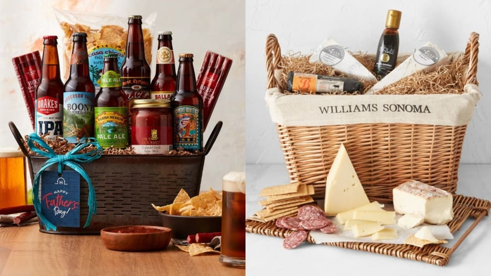 beer basket and charcuterie basket