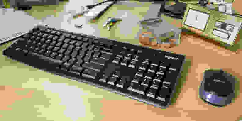 Logitech MK270 mouse and keyboard
