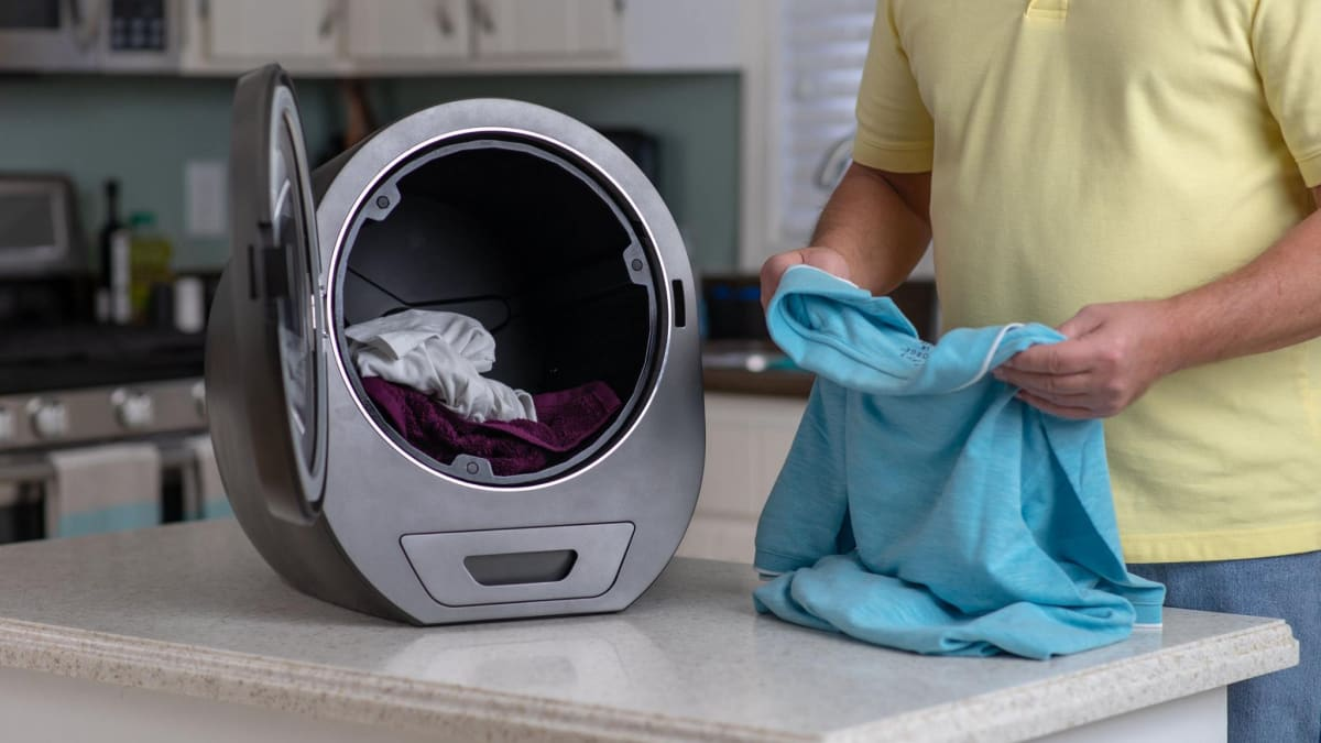 Hate doing laundry? This countertop dryer claims to dry clothes in 15 minutes