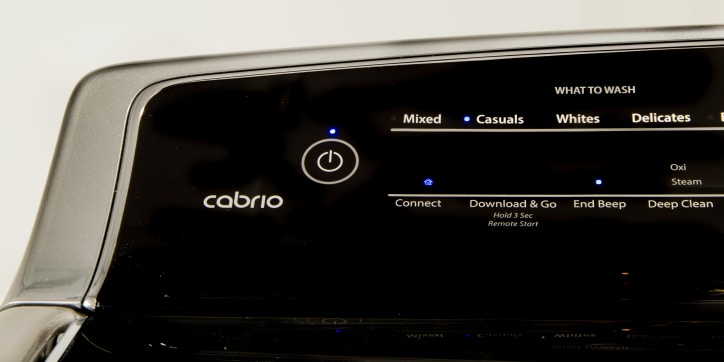Whirlpool Cabrio WTW8700EC Washing Machine Review - Reviewed Laundry