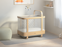 The Cradlewise smart crib will soothe your little one to sleep