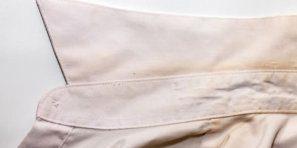 Your collar is gross—here's how to remove those stains