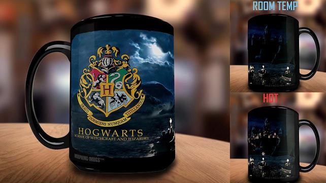 Morphing Mugs Harry Potter Hogwarts