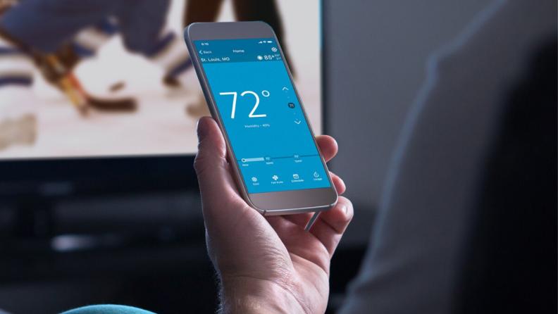 Smart thermostat app