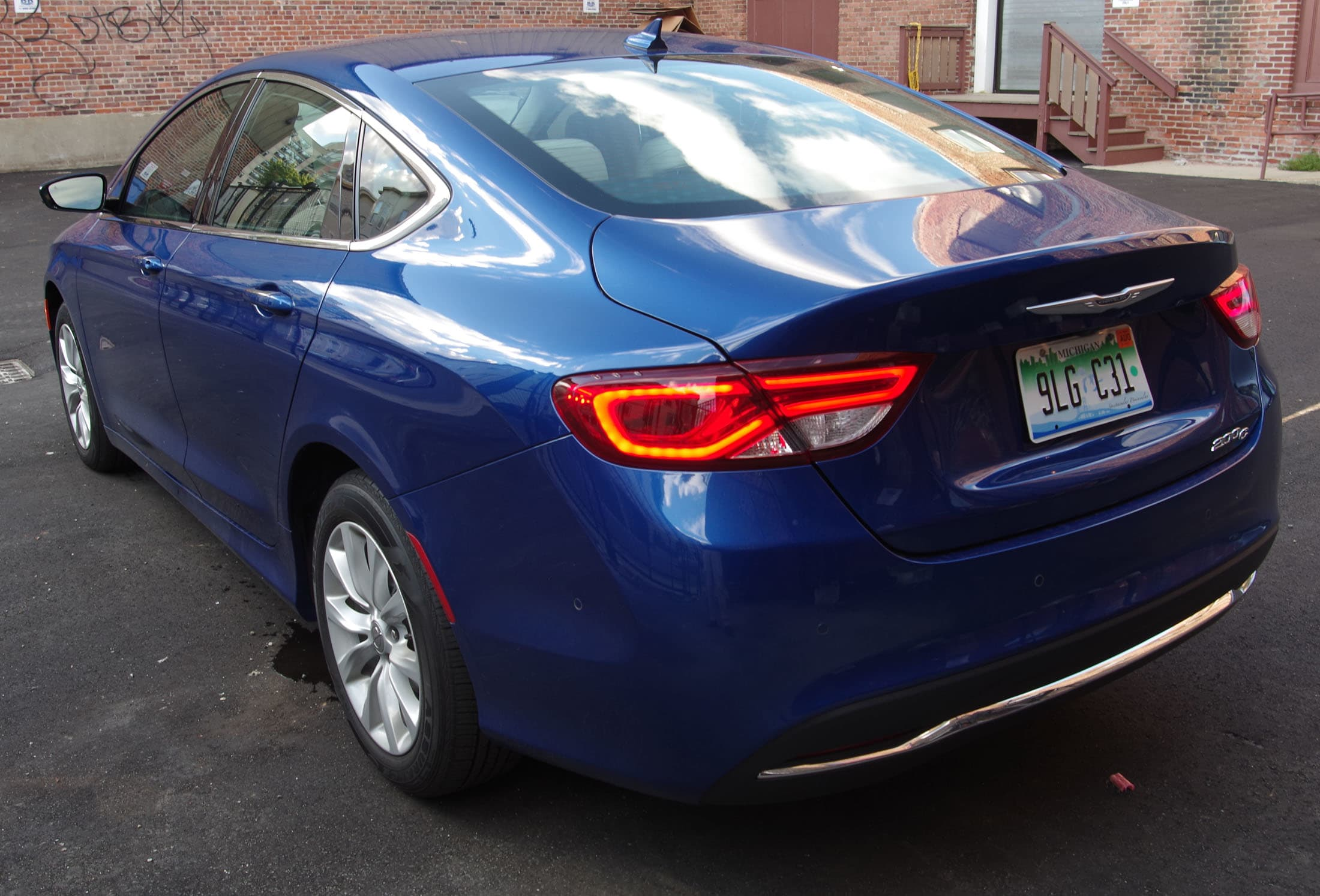 rear Chrysler 200