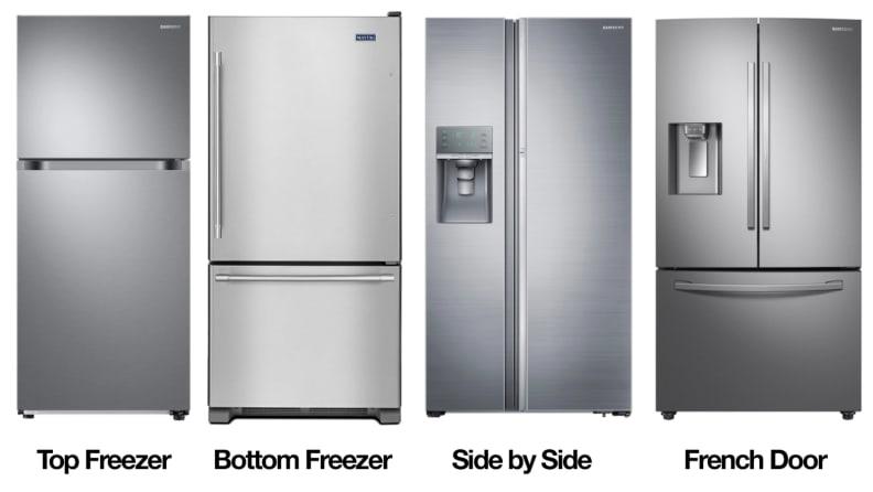 French-door versus side-by-side refrigerators - Reviewed