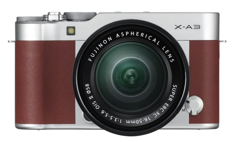 Fujifilm X-A3 Brown Front