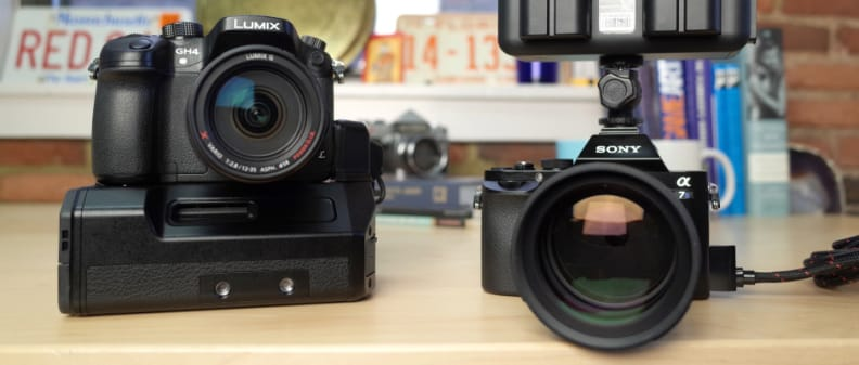 Shootout - Sony A7S and Panasonic GH4