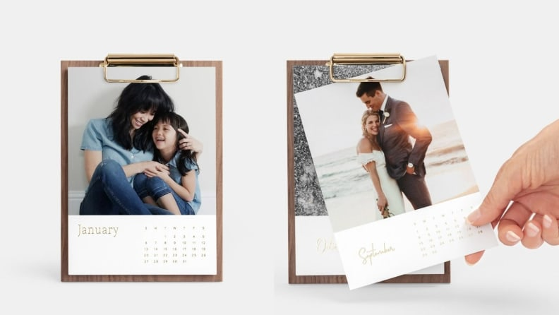 Walnut Photo Calendar