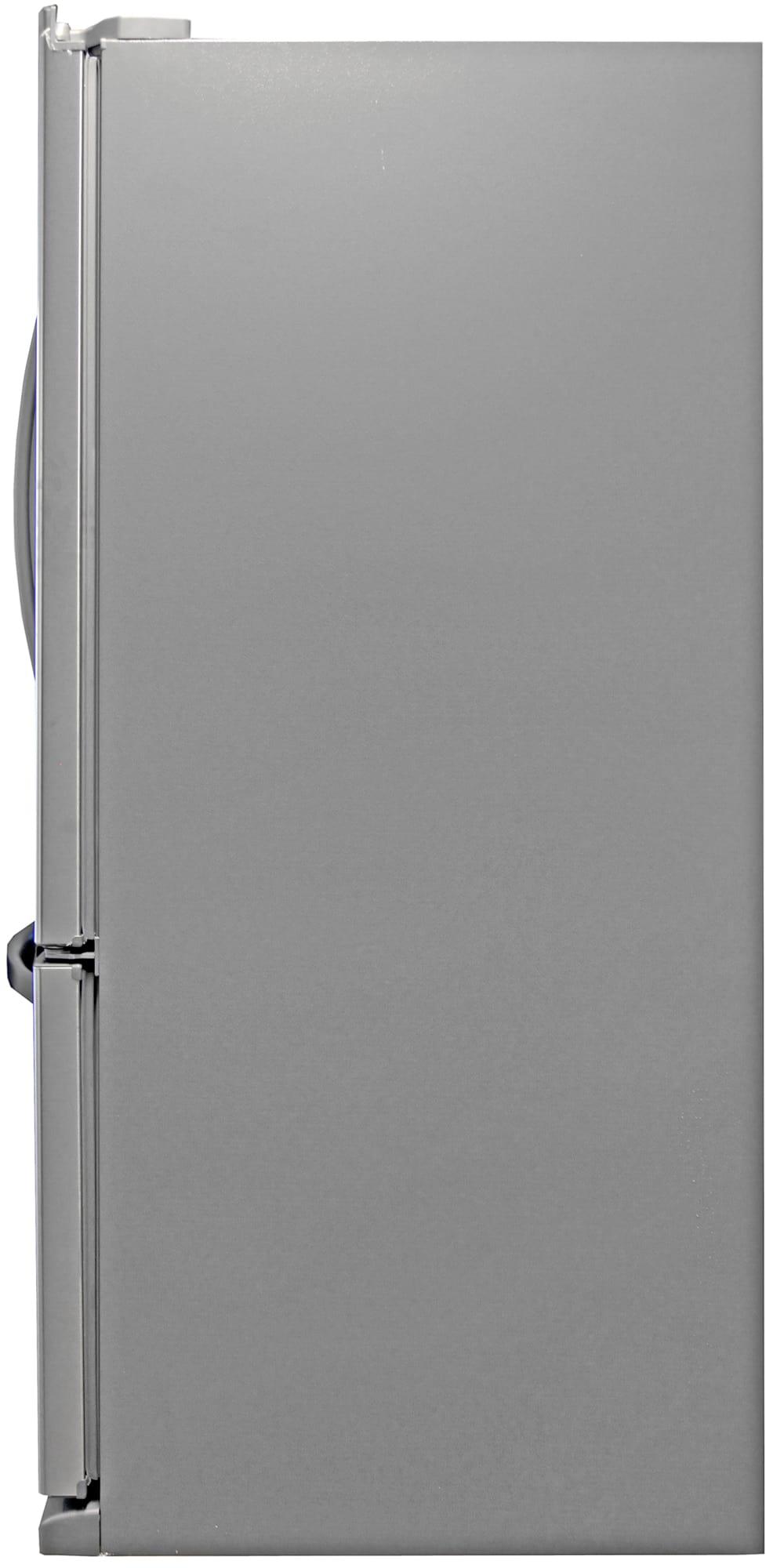 Grey matte sides are standard for fridges like the Kenmore 72013.