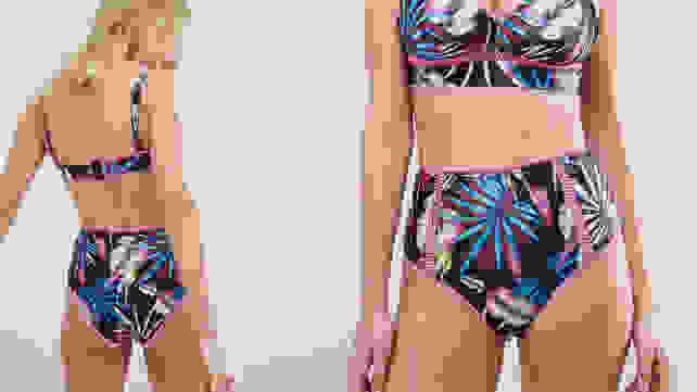 ASOS Peek & Beau Tropical Bikini