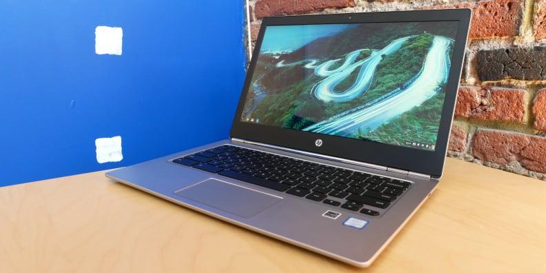 HP Chromebook 13 G1 On Table
