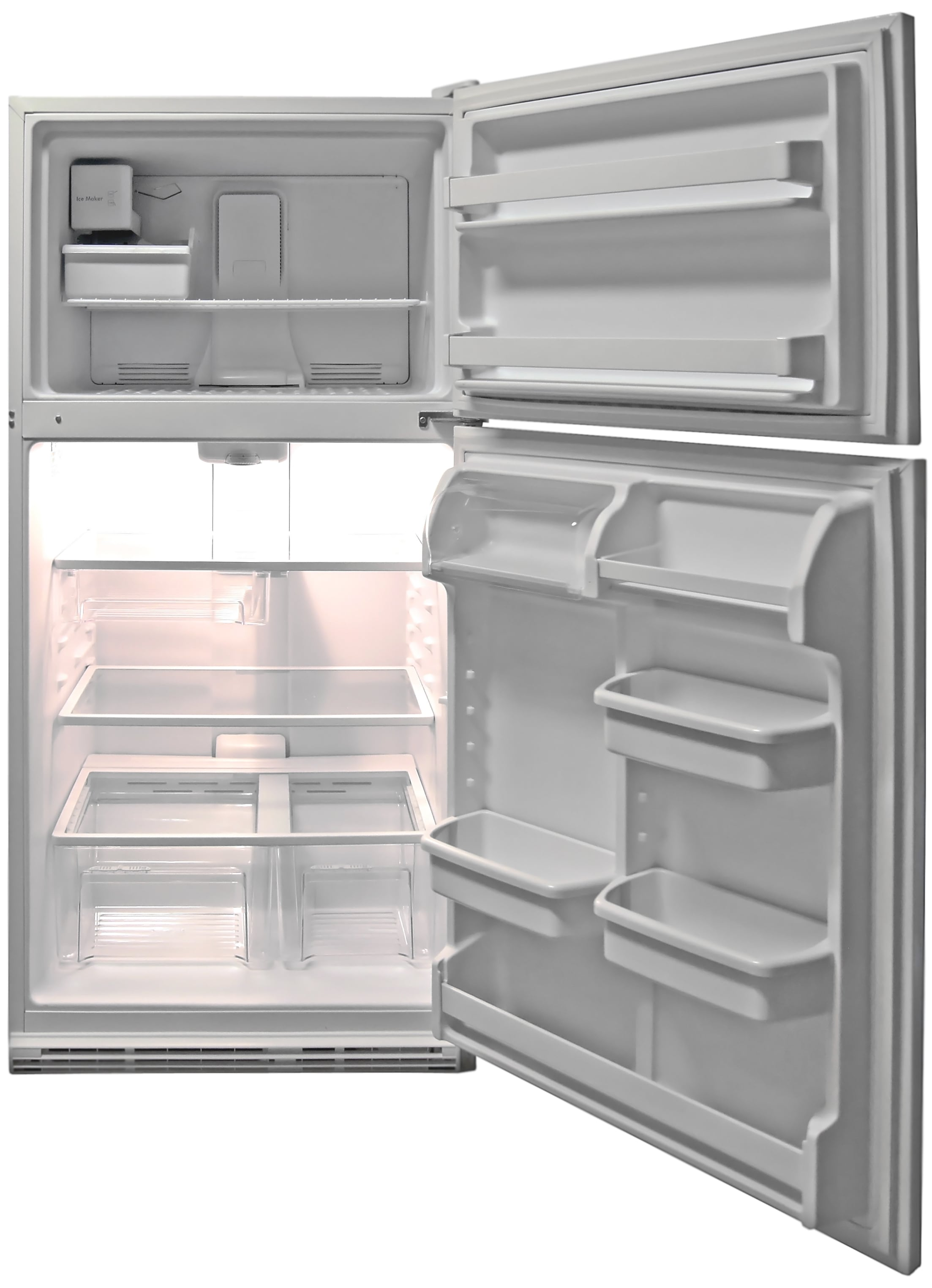 For a 21 cu. ft. fridge, the Kenmore 72152 is quite roomy.