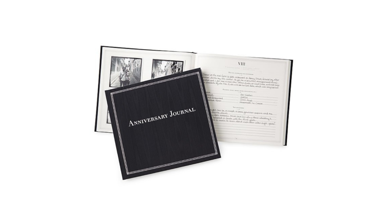 Best engagement gifts: Anniversary Journal