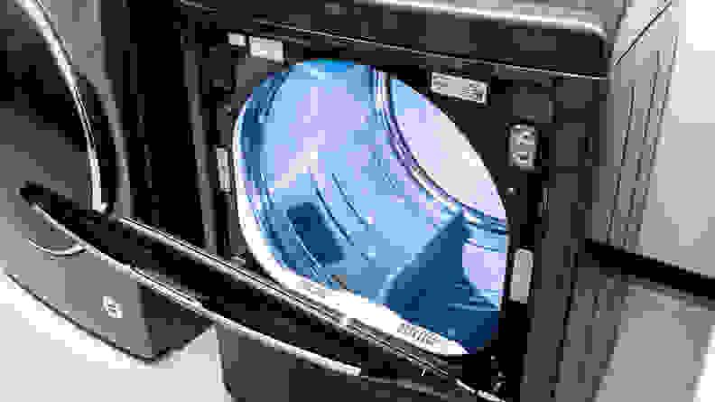 LG DLEX7900BE Door Open