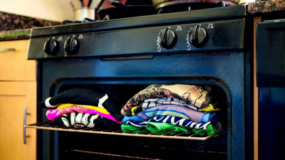 Carrie Bradshaw's oven—is it safe?