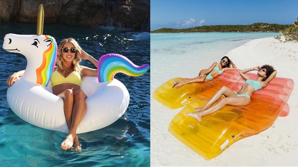 Tis the sea-sun for fun pool floats