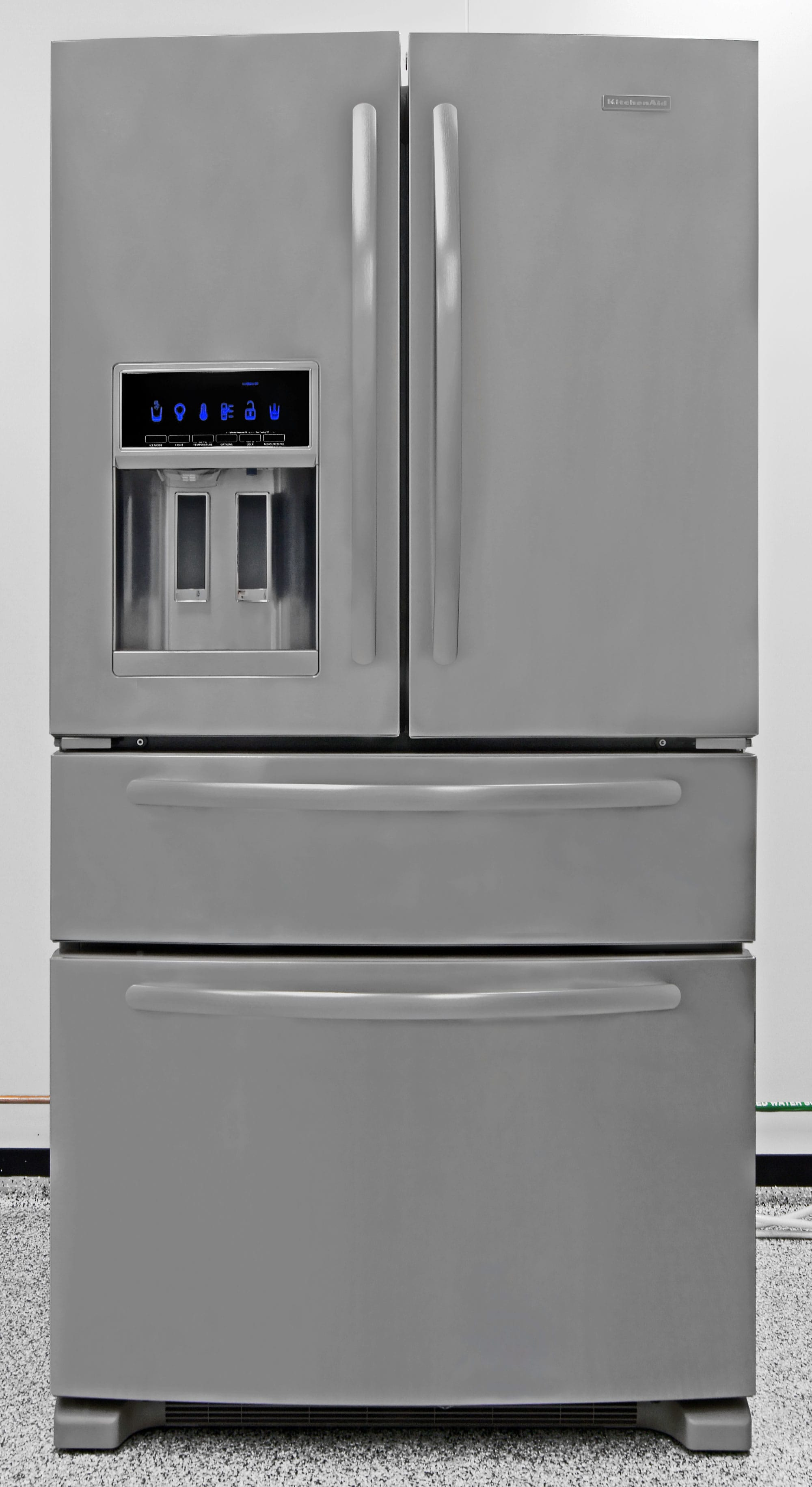 Charmant The KitchenAid KFXS25RYMS Is One Of The More Affordable Four Door Fridges  On The Market
