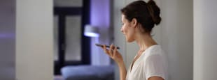 Philips hue homekit hero siri voice control