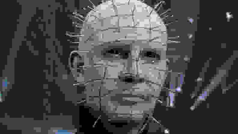 Doug Bradley as Pinhead in a scene from