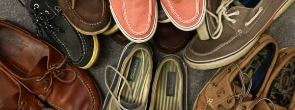 Boat shoes feature hero
