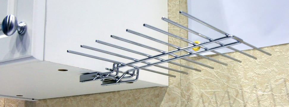 The Glass Hanger stemware drying rack