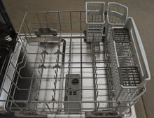 Three-Piece Silverware Basket