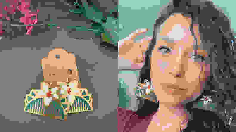 Mulan Earrings