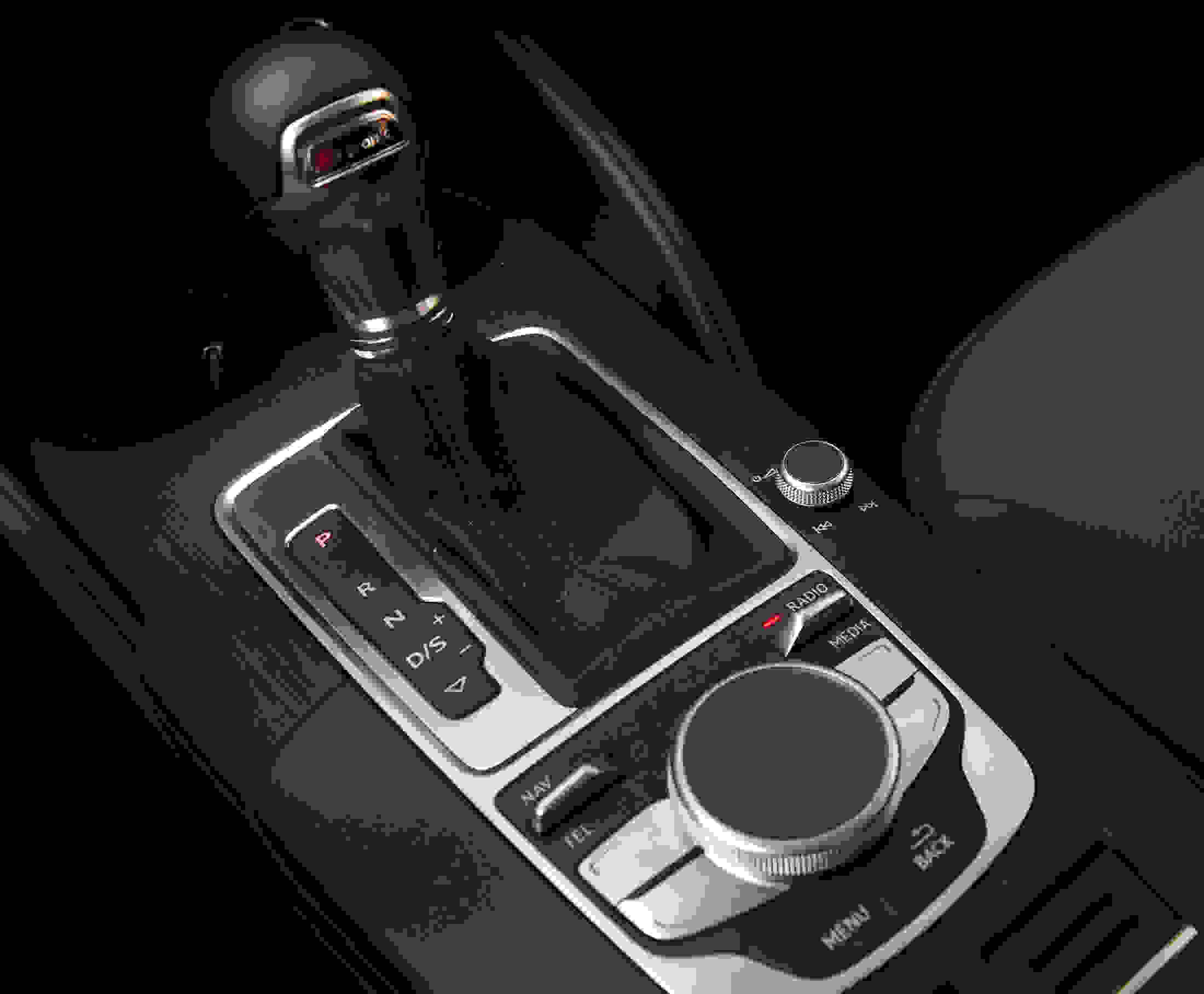 2015 Audi A3 shifter and MMI touchpad