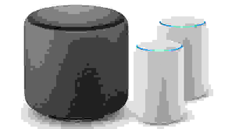 Echo Sub with Echo Pluses