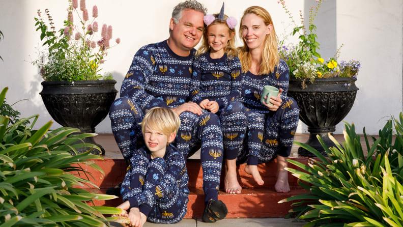 Hanna Andersson Hanukkah pyjama
