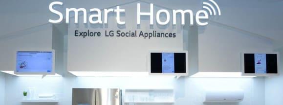 Lg smart home hero
