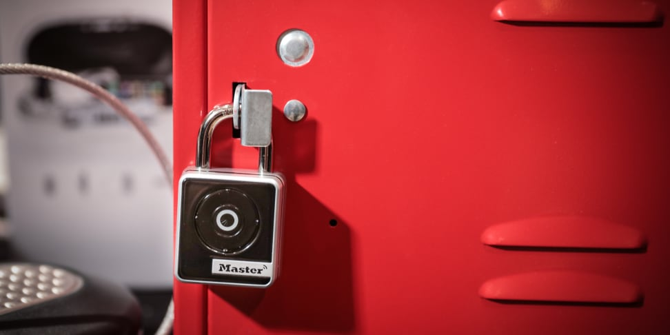 The Master Lock Bluetooth Smart Padlock