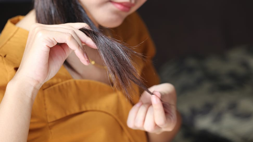 Here's why you should never pick your hair's split ends