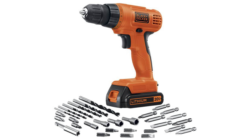 This best-selling Black and Decker Drill Kit is the lowest price ever right now