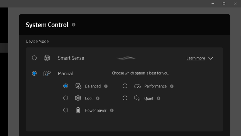 HP Command Performance Mode