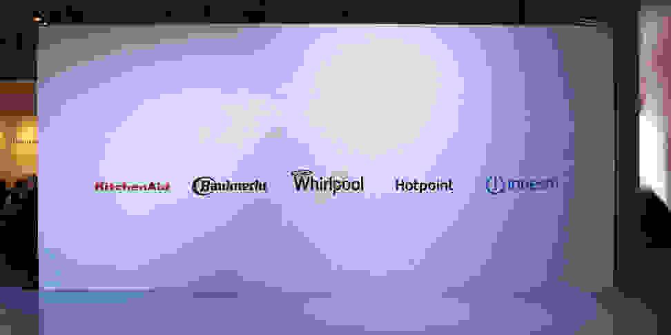 Whirlpool has many brands