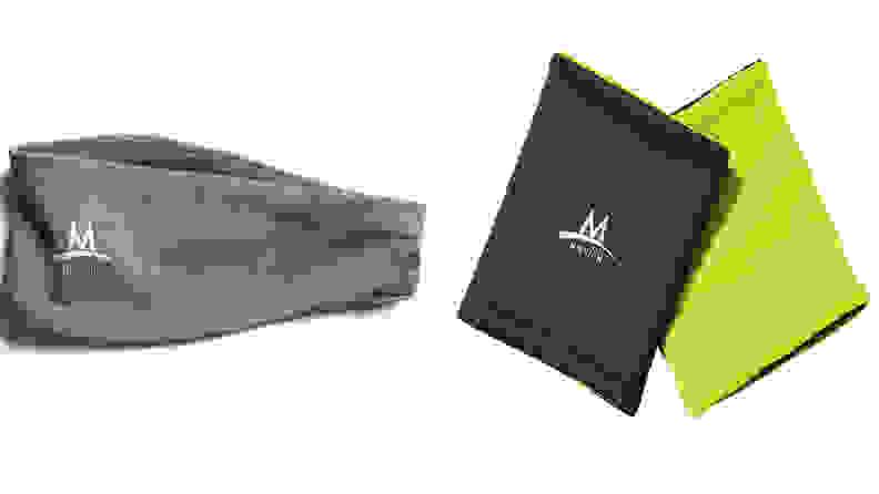Headband and armbands available on Amazon