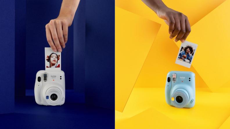 Polaroid-like photos