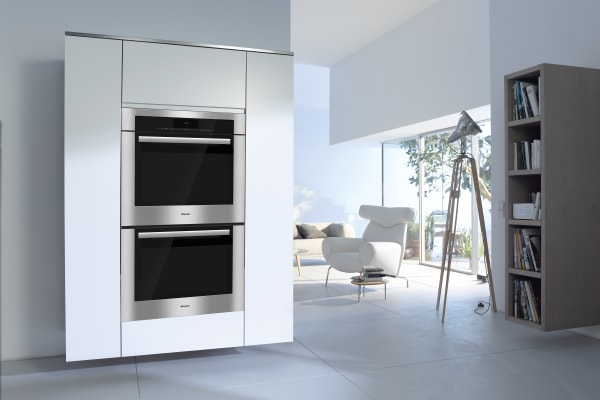 The Miele H6780BP2RT works best in minimalist settings, as shown in this image.