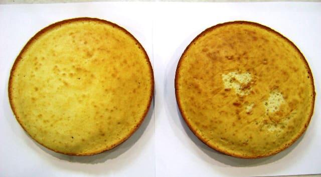 Upper oven cake top standard