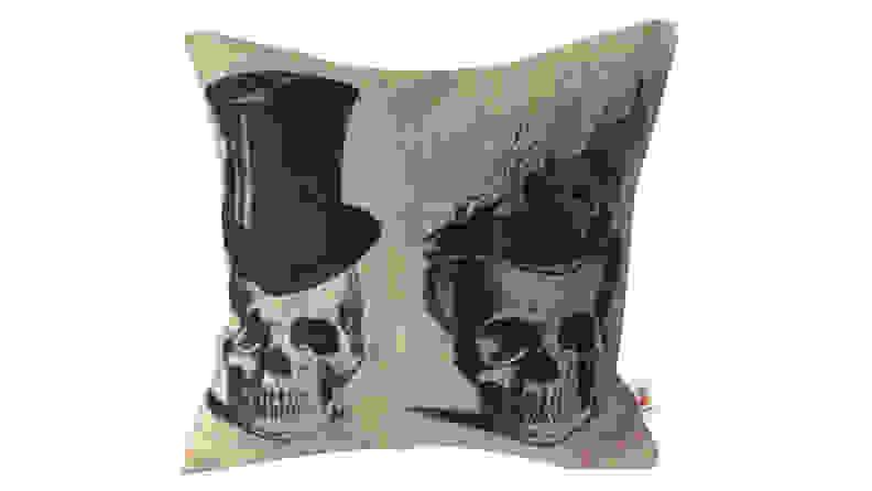 Nunubee Skull Throw Pillow Case