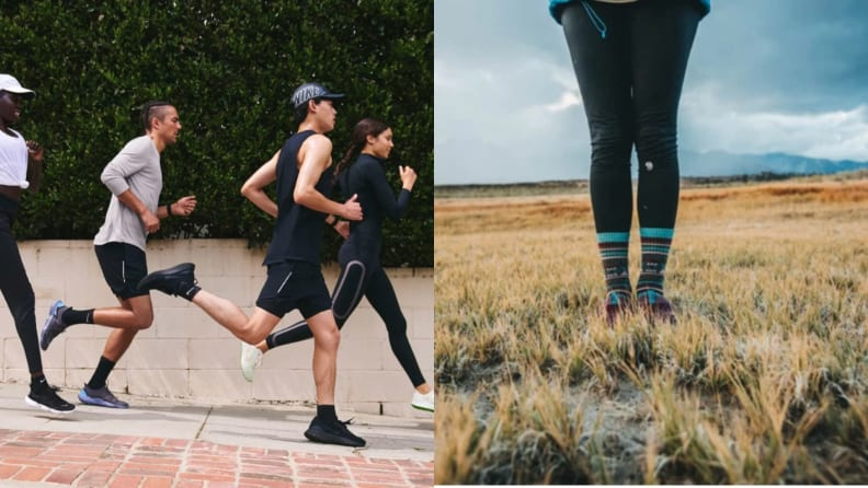 Nike Dri-fit running clothes and Darn Tough wool socks