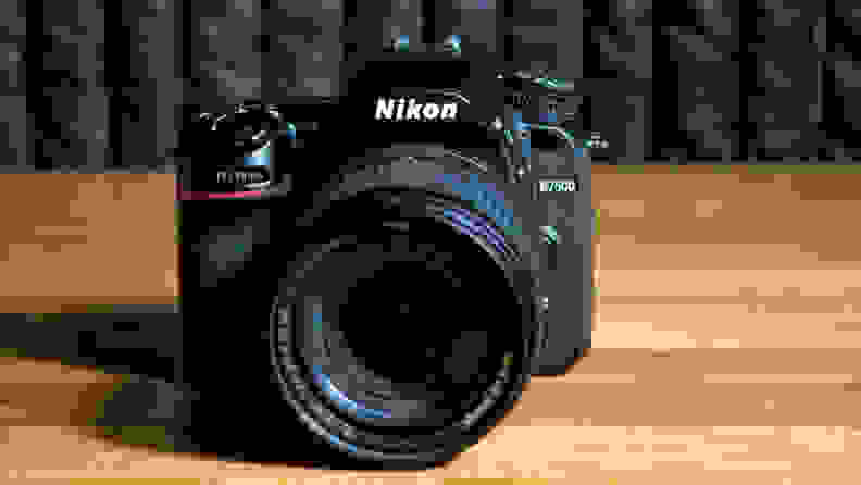 The D7500 is a handsome camera, if you like the traditional DSLR design.