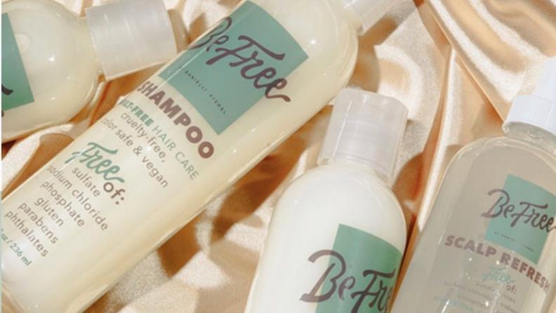 Be free shampoo