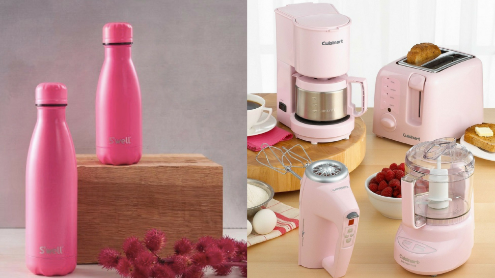 Pink products that benefit the Breast Cancer Research Foundation