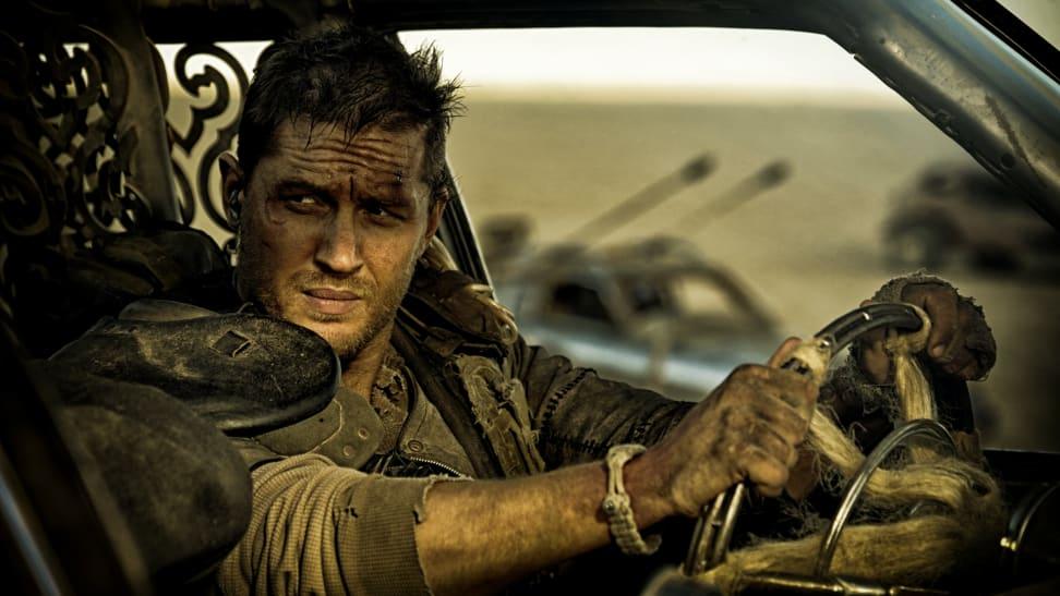 Tom Hardy stars as Max Rockatansky in 2015's 'Fury Road.'