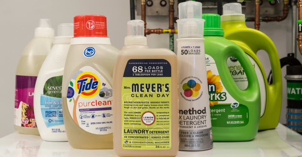 Eco-friendly detergents