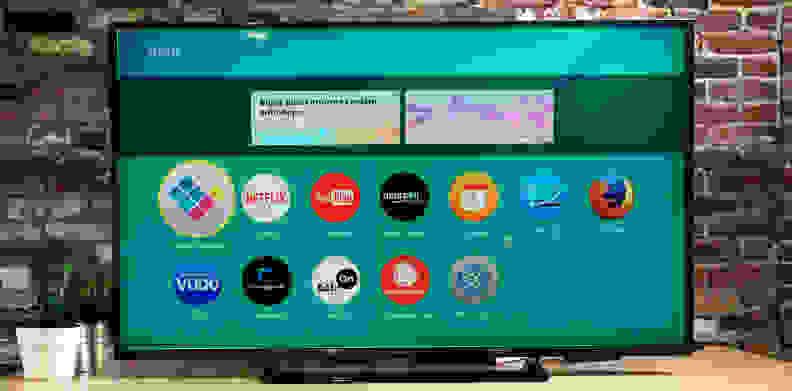 Panasonic TC-50CX600U Smart Platform Main Menu