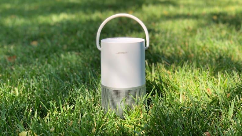 Bose Portable Smart Speaker in grass